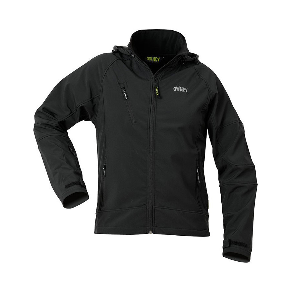 Owney Outdoor Outdoor Herren FjordBlack Softshelljacke Owney v8mnw0ON