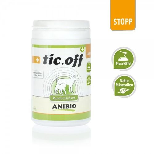 ANIBIO® tic-off - Inhalt: 140 g