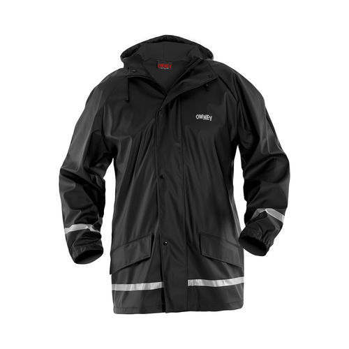 OWNEY OUTDOOR Unisex Regenjacke IMAQ | Black