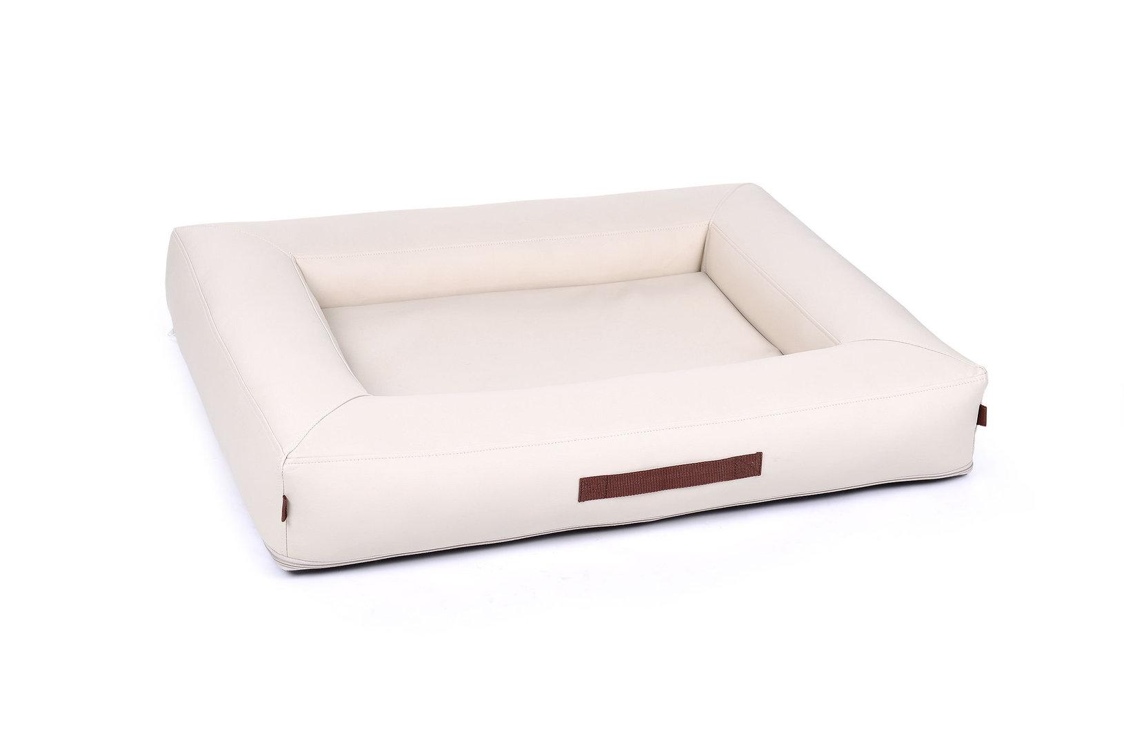 padsforall hundebett montreal kunstleder creme. Black Bedroom Furniture Sets. Home Design Ideas