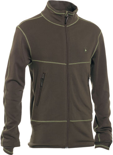 DEERHUNTER® Herren Fleecejacke GIRONDE | 376 Art Green