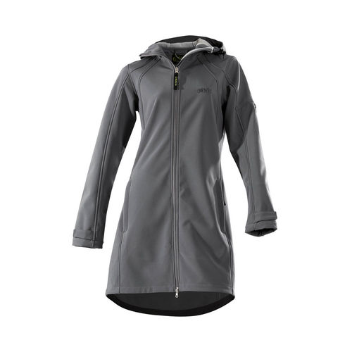 OWNEY OUTDOOR Damen Softshellmantel CITY HIKER | Anthracite