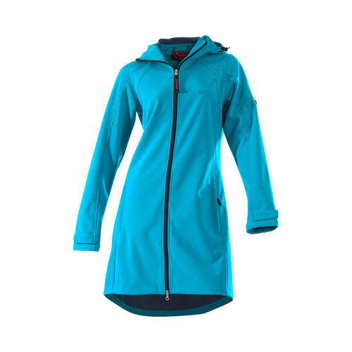 OWNEY OUTDOOR Damen Softshellmantel CITY HIKER | Aqua