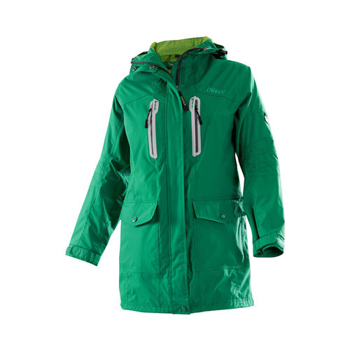 OWNEY OUTDOOR Damen Parka ARNAUTI | Ivy Green