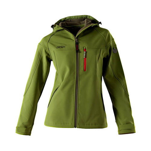 OWNEY OUTDOOR Damen Softshelljacke CERRO | Cedar Green