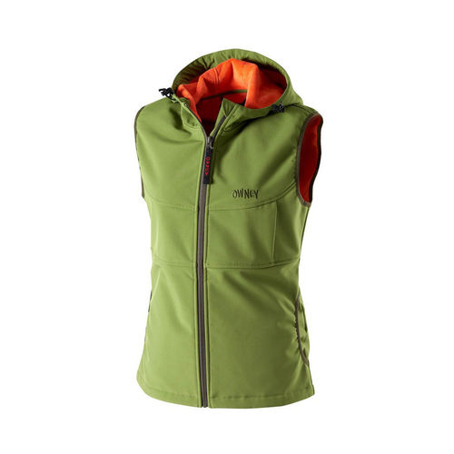 OWNEY OUTDOOR Damen Softshellweste YUNGA | Cedar Green