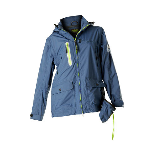 OWNEY OUTDOOR Unisex Doppeljacke TRUSTY FRIEND | Dark Petrol