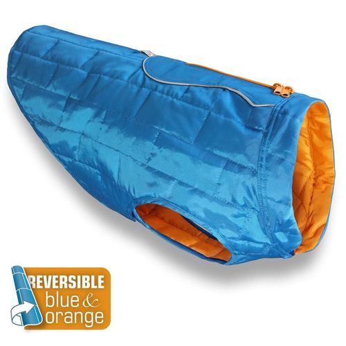 KURGO® Hunde Thermojacke LOFT THERMO | Blue/Orange