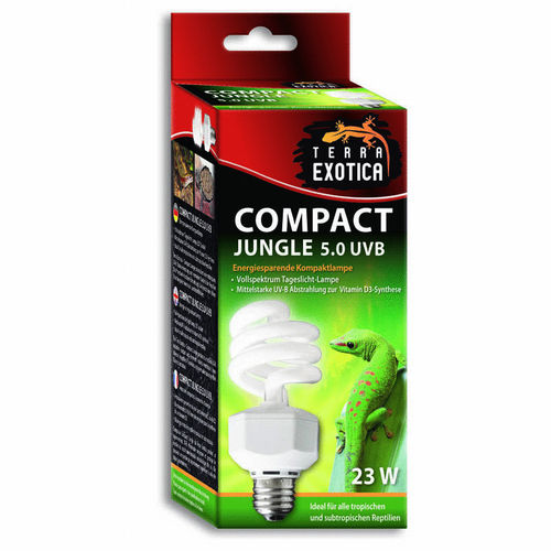 TERRA EXOTICA Compact Jungle 5.0 UVB | 23 Watt