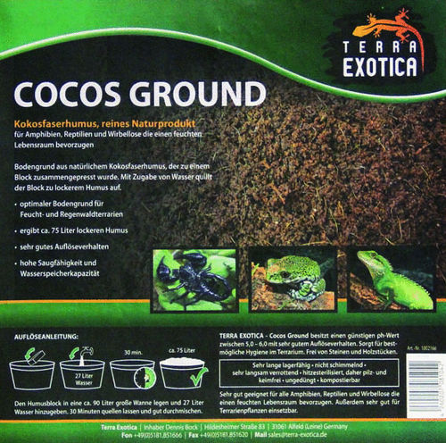 TERRA EXOTICA Cocos Ground