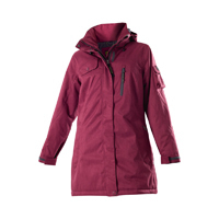 OWNEY OUTDOOR Damen Winterparka ARCTIC | Cherry Red