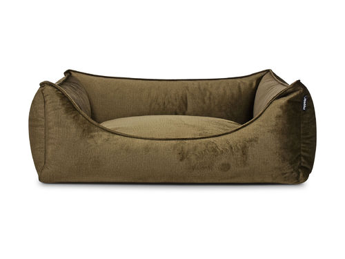 PADSFORALL® Hundebett DREAMCOLLECTION Velvetline | Khaki