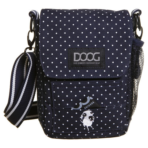 DOOG® Schultertasche SHOULDER BAG »STELLA« | Navy/White Spot