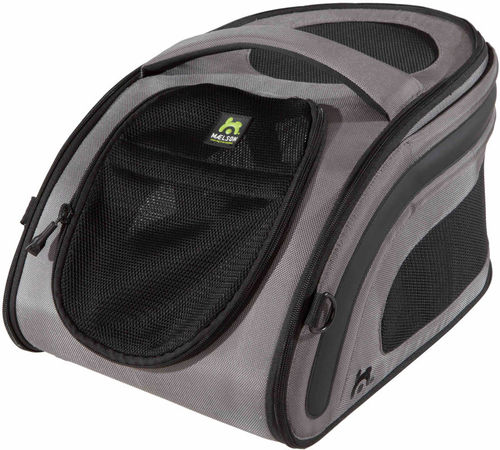 MAELSON® Hundetransportbox faltbar Snuggle Kennel™ | Anthrazit
